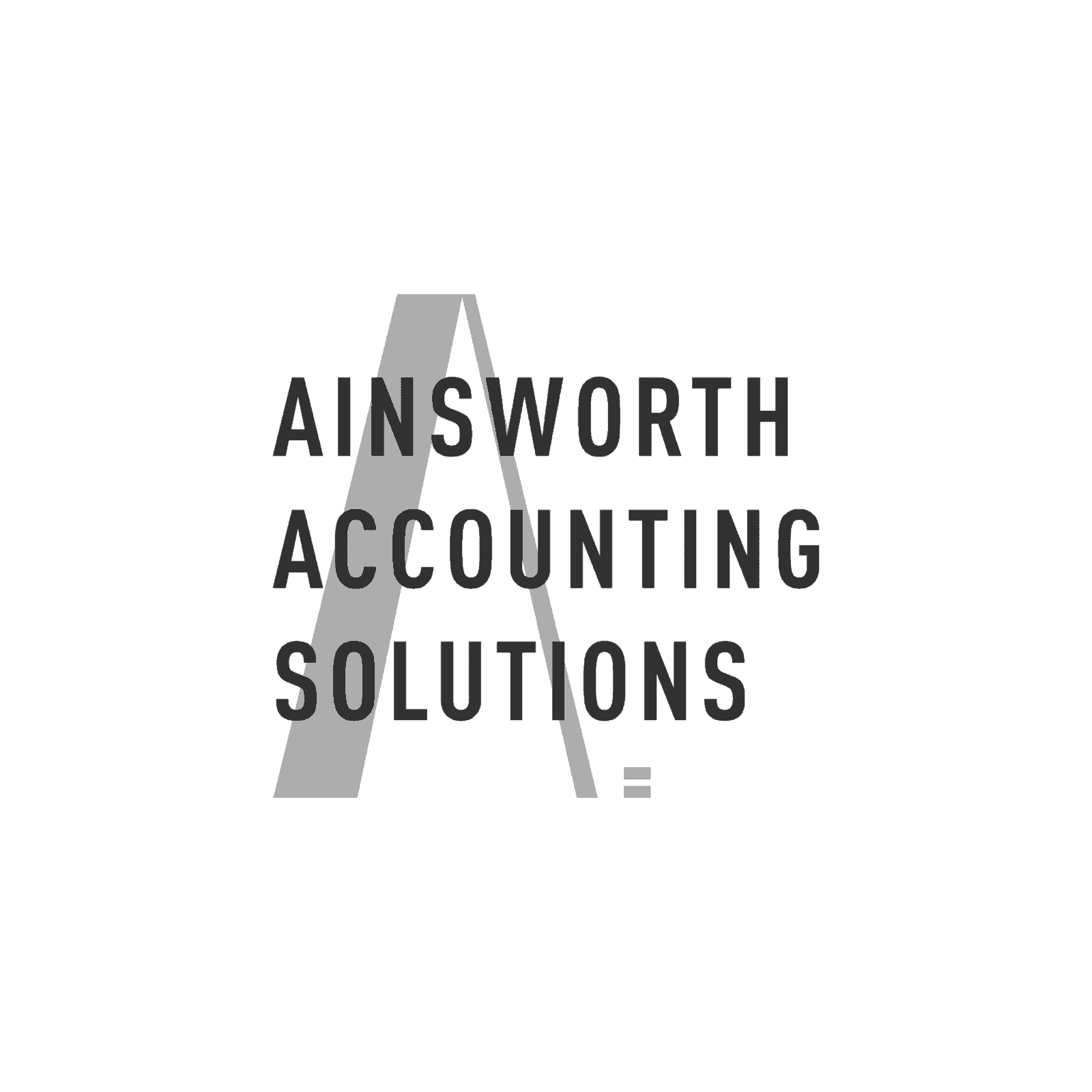 Ainsworth Grayscale Logo