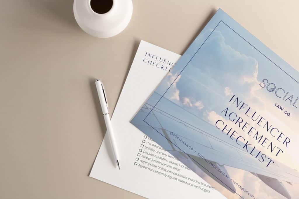 Influencer Checklist