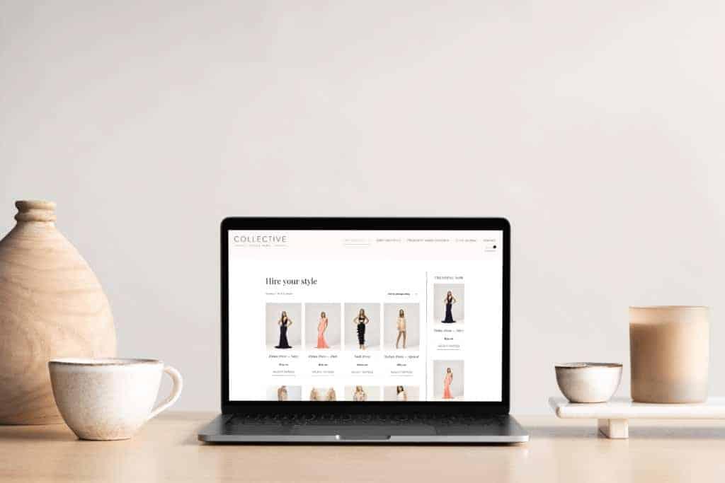 Collective Style Hire WordPress e-Commerce development and design