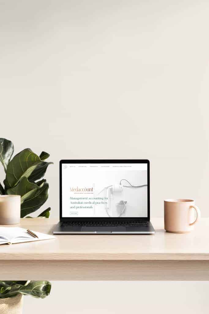 Medaccount Website By Seedling Digital WordPress Design And Development